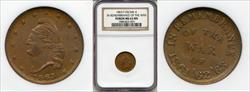 1863 Token F-24/246 Copper Remembrance of the War MS63BN NGC