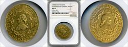 (1800) Medal Funeral Medal Gold Gold MS62 NGC