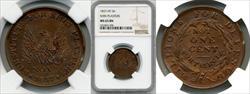 1837 Token HT-56 Copper Phoenix-Not One Cent MS65BN NGC