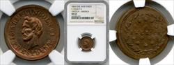 1864 Lincoln-America Campaign Token F-125/417 d MS65 NGC