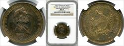 1860 Abraham Lincoln Campaign Medal DEWITT-AL-1860-43 MS65 NGC