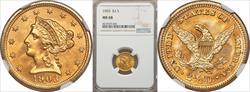 1903 $2.50 MS68 NGC