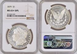 1879 $1 MS65+DMPL NGC