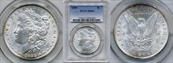 1899 $1 MS63 PCGS