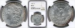 1904 $1 MS63 NGC