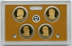 2011 Presidential Dollar 4-Coin Proof Set $1 United States US Mint OGP Box & COA