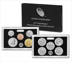 Lot of (20) 2017 Enhanced Uncirculated Coin Set 225th Anniversary US Mint OGP