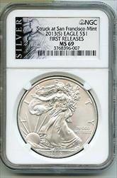 2013(S) American Eagle 1 oz   NGC First Releases BQ215