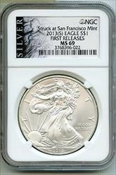 2013(S) American Eagle 1 oz   NGC First Releases BQ216