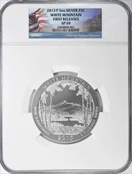 2013 P White Mountain National Forest 5 Oz   NGC SP 69