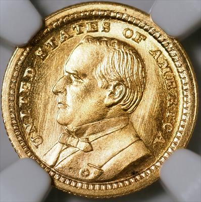 1903 LA Purchase McKinley G$1 -- NGC MS67
