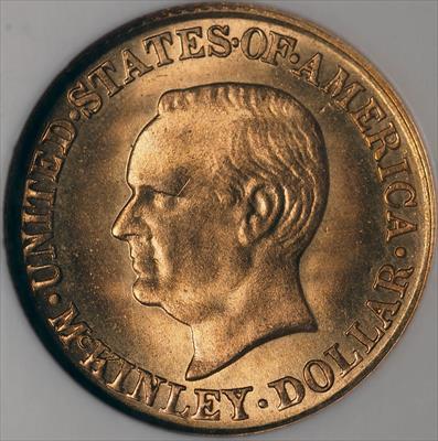 1916 McKinley G$1 -- NGC MS67